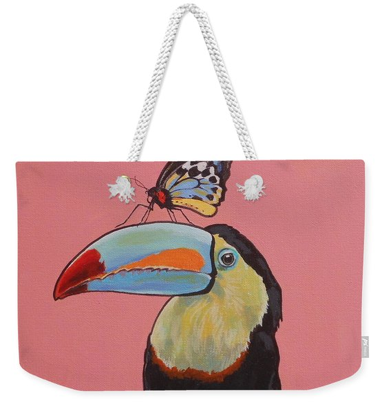 Talula The Toucan Weekender Tote Bag