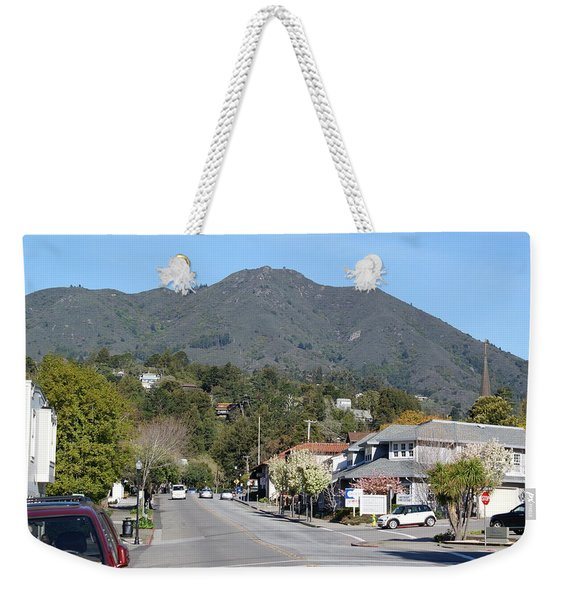 Tamalpais From Mill Valley Weekender Tote Bag