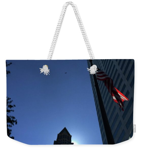 Tampa At Noon On A Monday Weekender Tote Bag