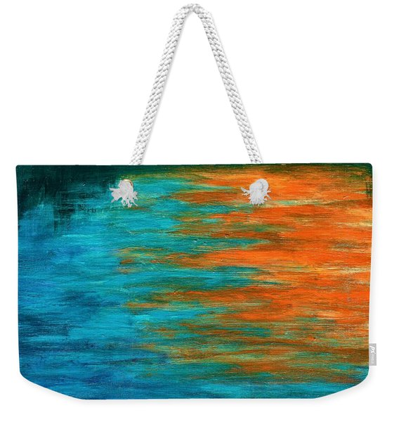 Tangerine Dream  Weekender Tote Bag