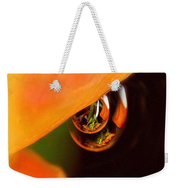 Tangerine Drops Weekender Tote Bag
