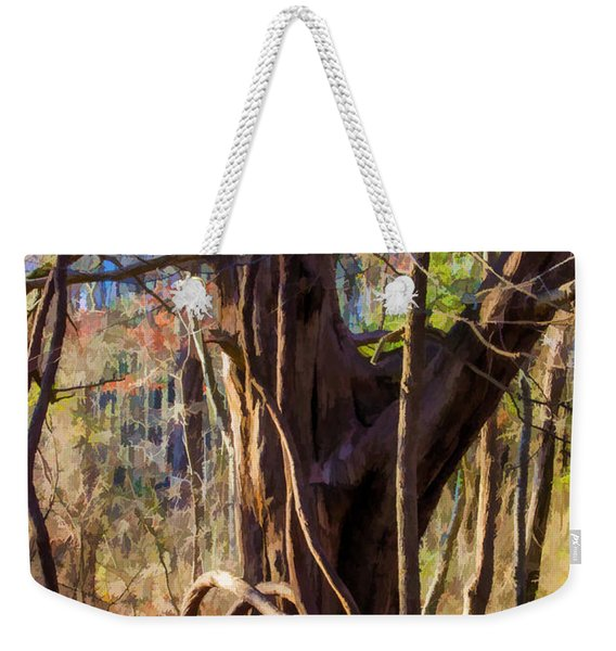 Tangled Vines On Tree Weekender Tote Bag