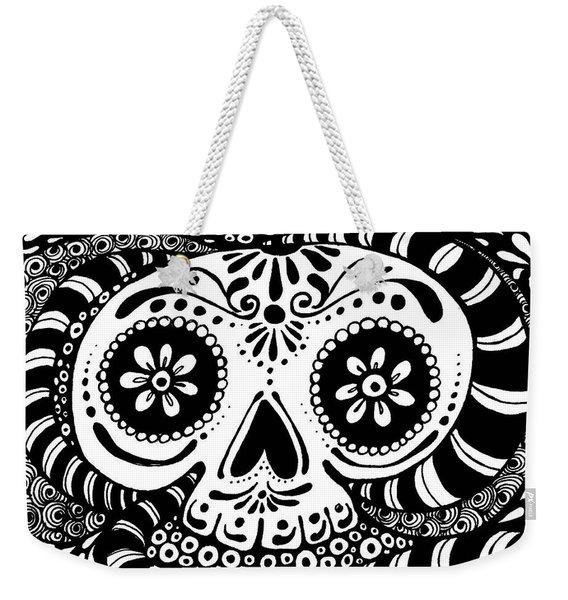 Tangled Skull Weekender Tote Bag