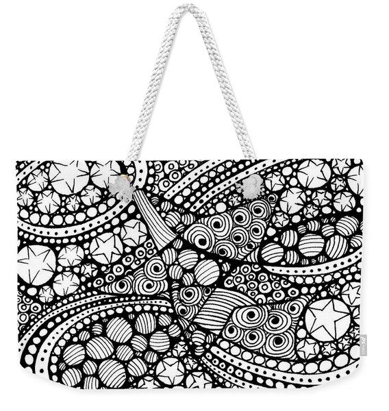 Tangled Stars  Weekender Tote Bag