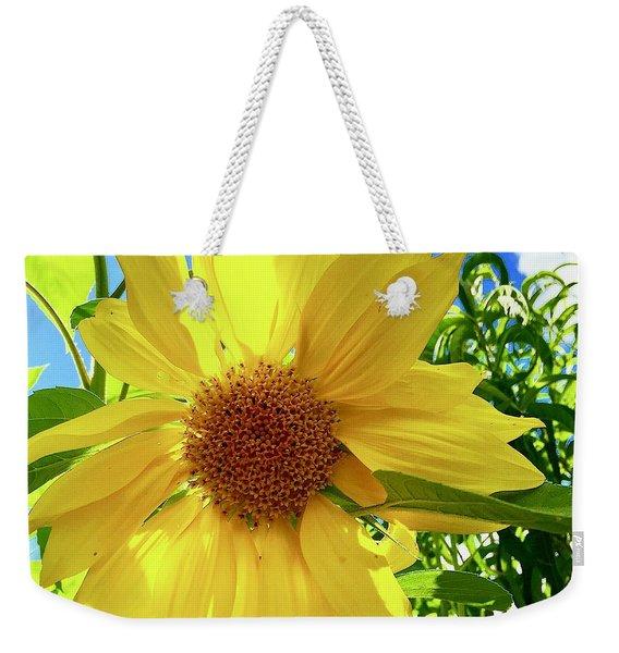 Tangled Sunflower Weekender Tote Bag