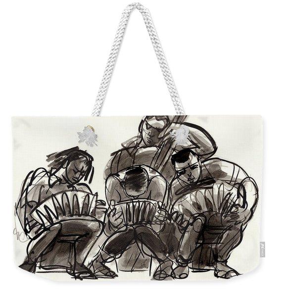 Tango Musicians Weekender Tote Bag