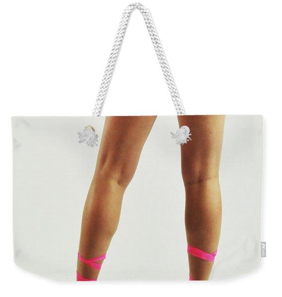 Tape And Heels Weekender Tote Bag