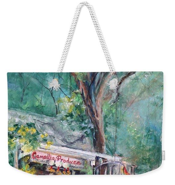 Slidell Produce Weekender Tote Bag