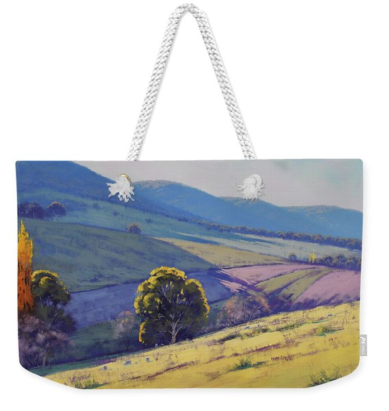 Tarana Pastoral Weekender Tote Bag