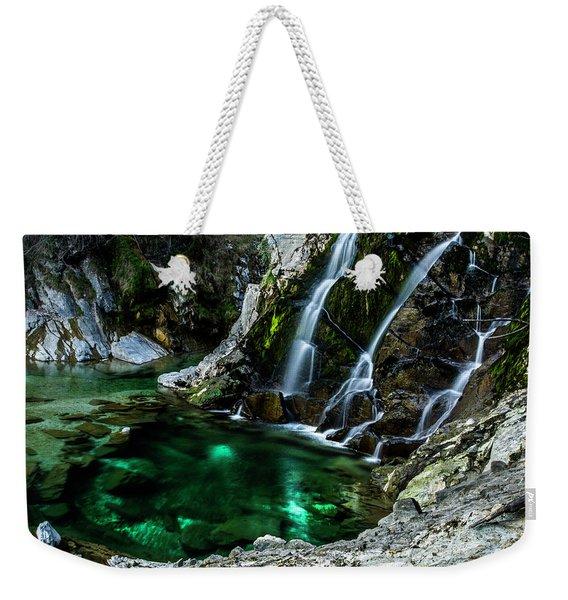 Tarcento's Cascade 5 Weekender Tote Bag
