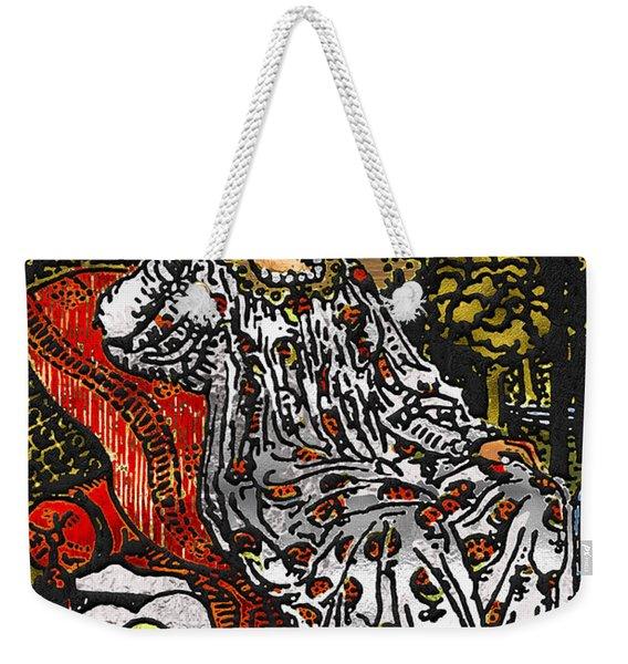 Tarot Gold Edition - Major Arcana - The Empress Weekender Tote Bag