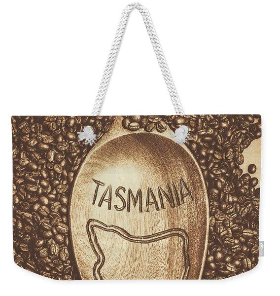 Tasmania Coffee Beans Weekender Tote Bag