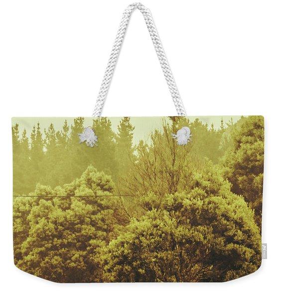 Tasmanian Grassland Details Weekender Tote Bag