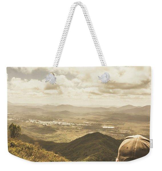 Tasmanian Hiking View Weekender Tote Bag