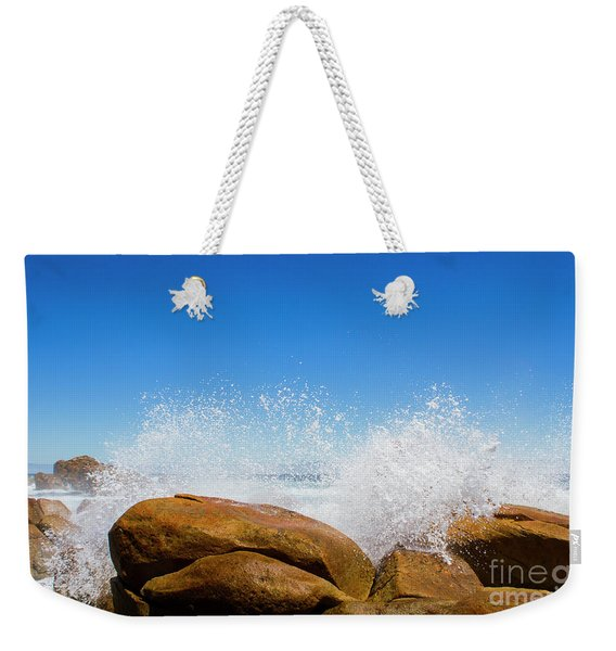 Tasmanian Ocean Spray Weekender Tote Bag