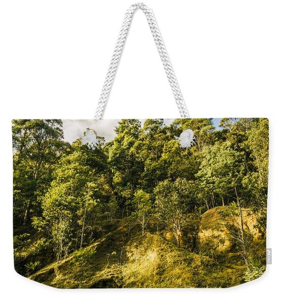 Tasmanian Rain Forest Glade Weekender Tote Bag