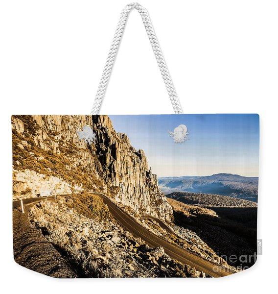 Tasmanian Turns Weekender Tote Bag