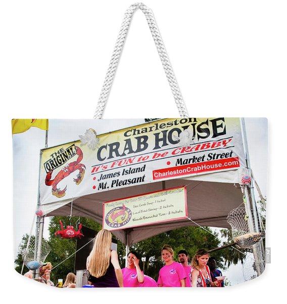 Taste Of Charleston Weekender Tote Bag