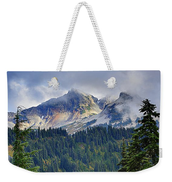 Tatoosh Mountains Weekender Tote Bag