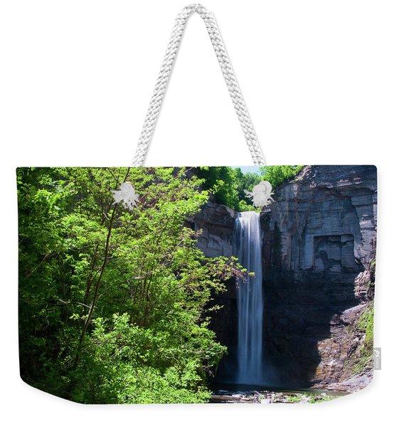 Taughannock Falls 0466 Weekender Tote Bag
