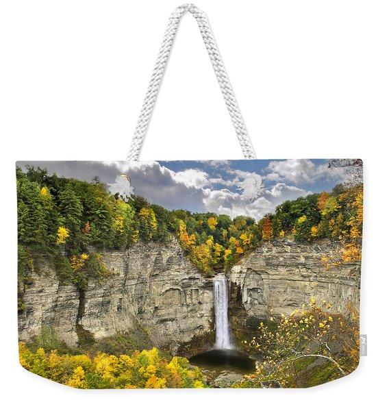 Taughannock Falls Autumn Weekender Tote Bag