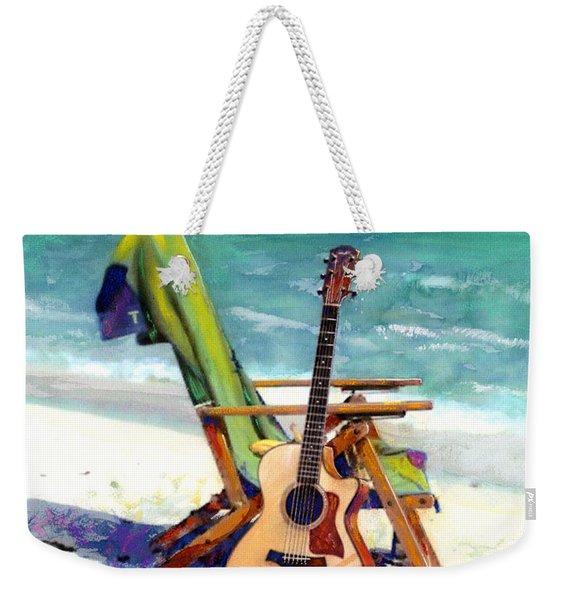 Taylor At The Beach Weekender Tote Bag