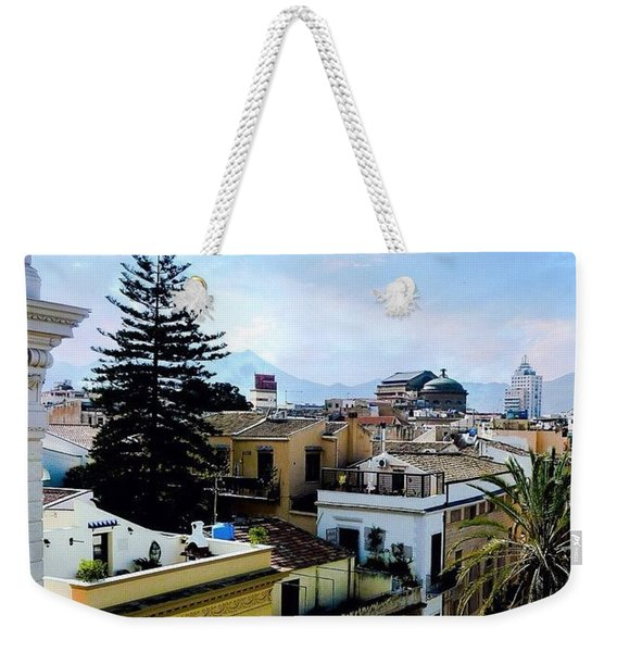 #tbt Family Trip To #sicily March 2011 Weekender Tote Bag
