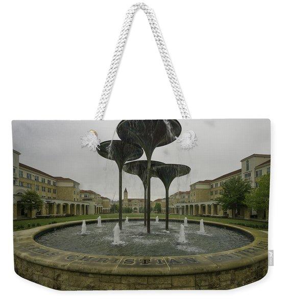 Tcu Campus Commons Weekender Tote Bag