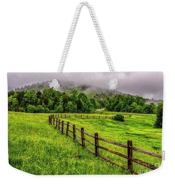 Tea Creek Meadow And Buttercups Weekender Tote Bag
