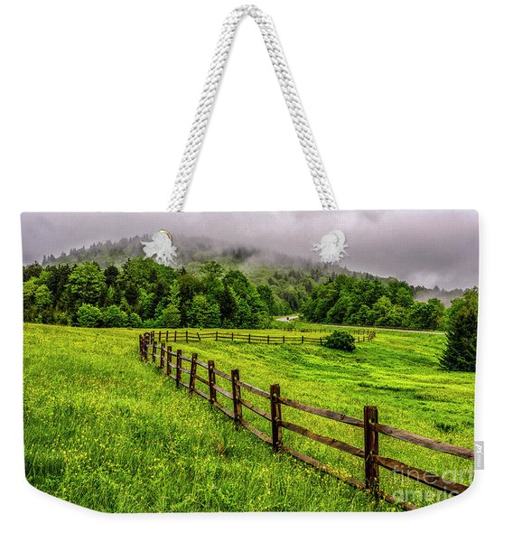 Tea Creek Meadow And Buttercups Weekender Tote Bag