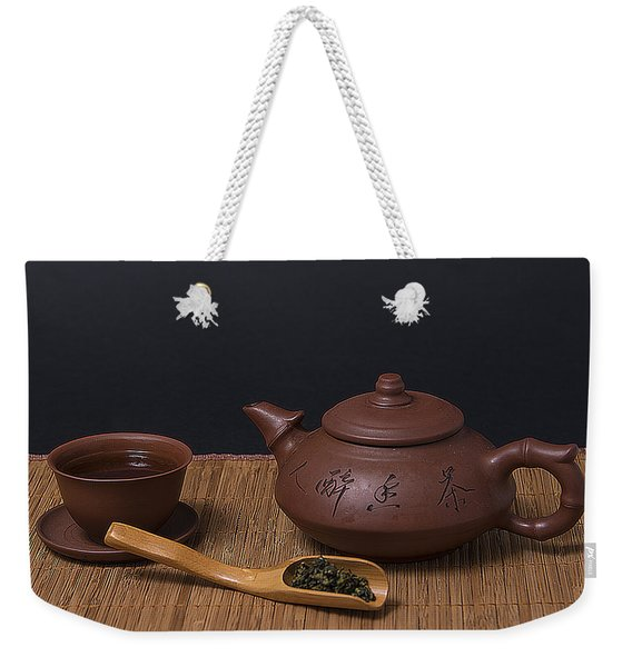 Tea Party Weekender Tote Bag