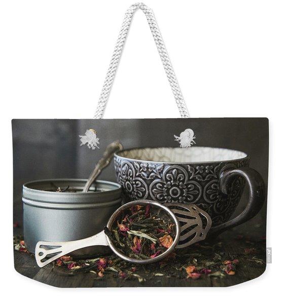 Tea Time 8312 Weekender Tote Bag