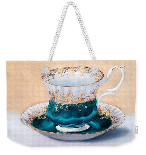 Teacup Weekender Tote Bag