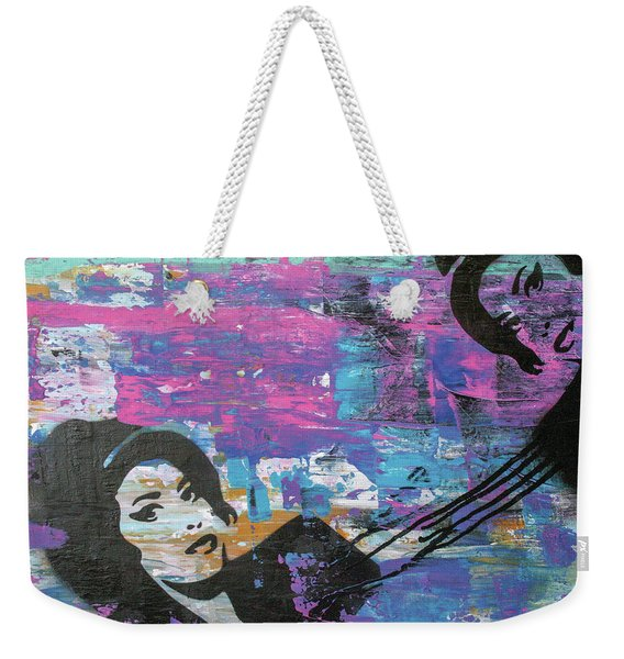 Tears Dry On Thier Own Weekender Tote Bag