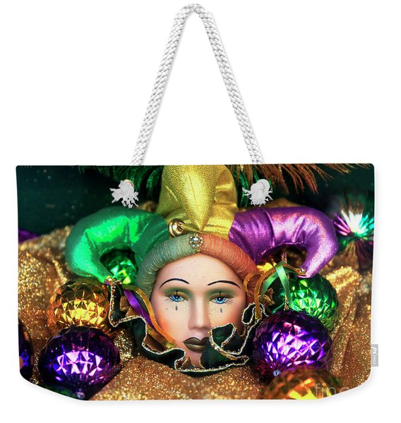Tears Of A French Quarter Jester New Orleans Weekender Tote Bag