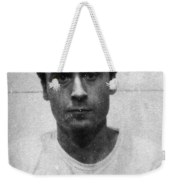 Ted Bundy Mug Shot 1975 Vertical  Weekender Tote Bag