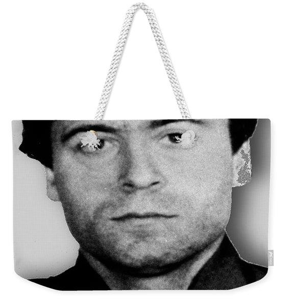 Ted Bundy Mug Shot 1980 Vertical  Weekender Tote Bag