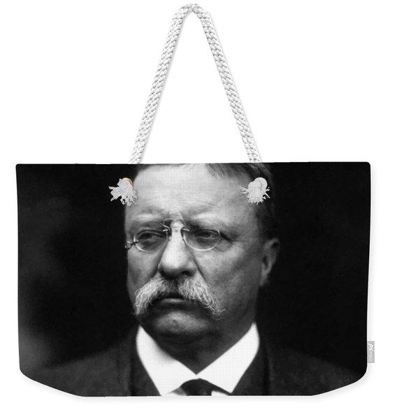 Teddy Roosevelt Weekender Tote Bag