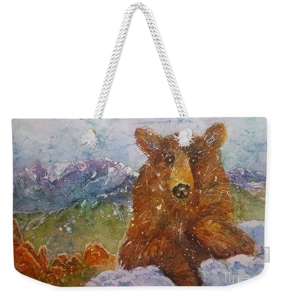 Teddy Wakes Up In The Most Desireable City In The Nation Weekender Tote Bag