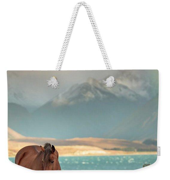 Tekapo Horse Weekender Tote Bag