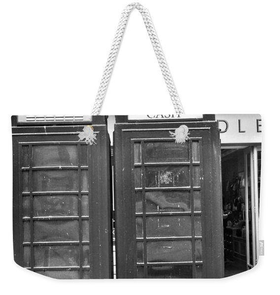 Telephone Booth In London Weekender Tote Bag
