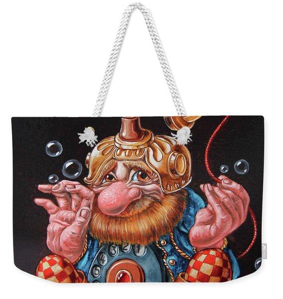 Telephonic Weekender Tote Bag