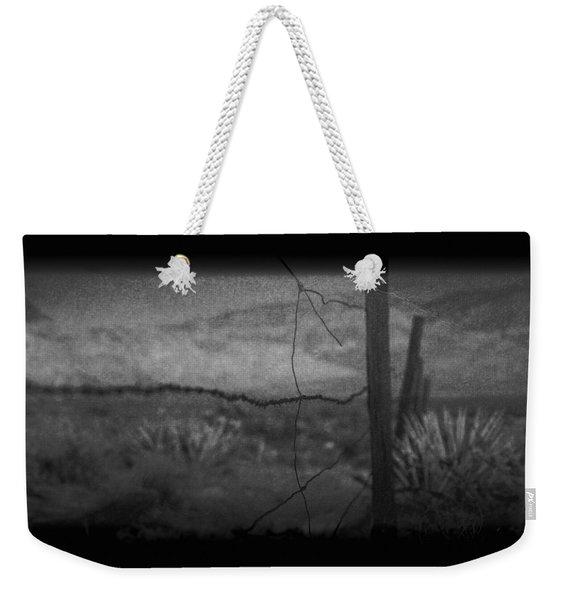 Tell Me Weekender Tote Bag