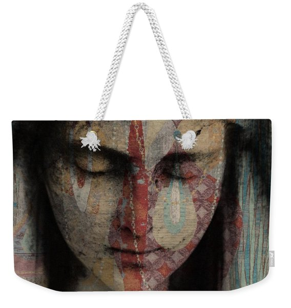 Tell Me There's A Heaven Weekender Tote Bag