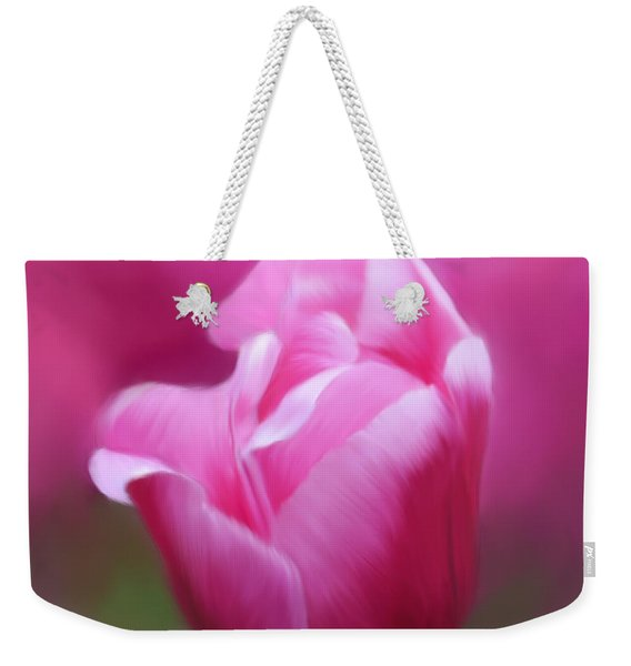 Tell Your Heart To Beat Again - Flower Art Weekender Tote Bag