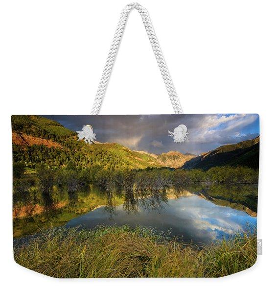 Telluride Valley Floor Weekender Tote Bag