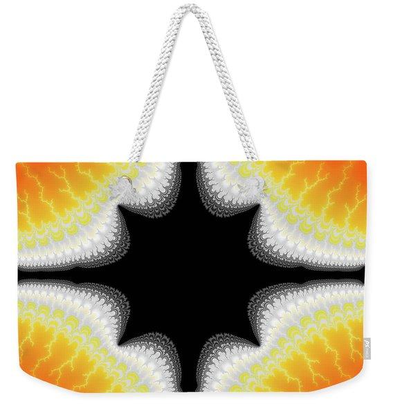 Fractal 7 Center 2x3 Weekender Tote Bag