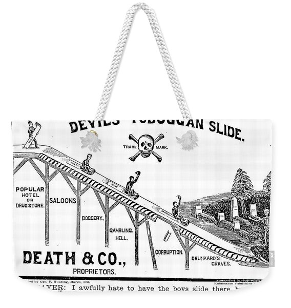 Temperance Movement 1887 Weekender Tote Bag