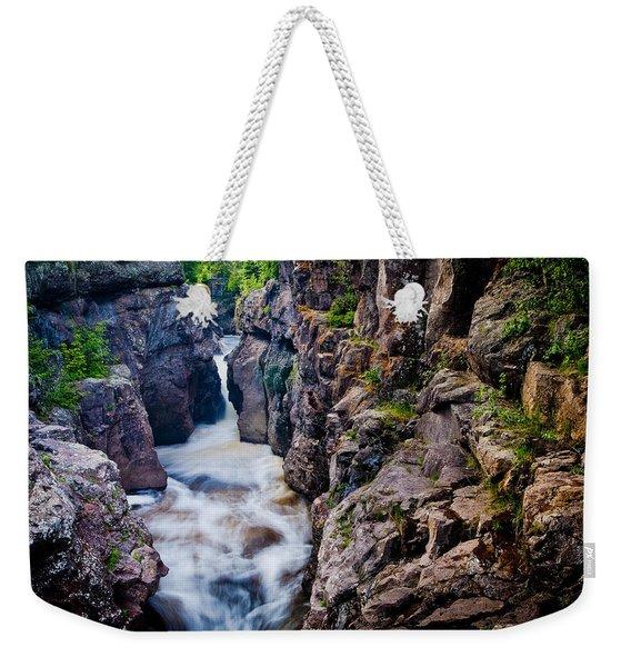Temperance River Gorge Weekender Tote Bag