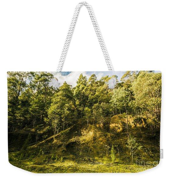 Temperate Rainforest Scene Weekender Tote Bag